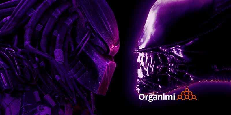 Org Charts, Virtual Teams and Talent Platforms: Alien vs Predator