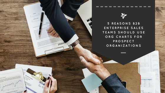 5 Reasons B2B Enterprise Sales Teams Should Use Org Charts for Prospect Organizations