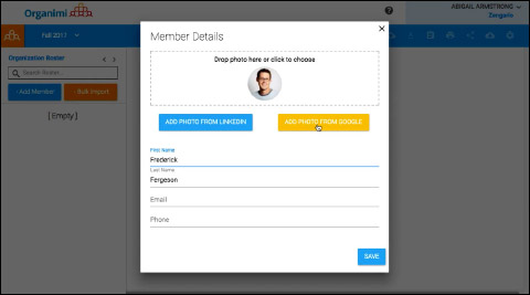 Member Details - How to Add