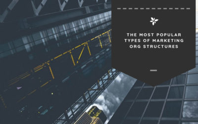 The Most Popular Types of Marketing Org Structures