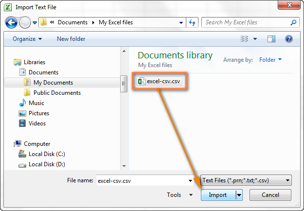 How to Convert CSV to Excel Files Quickly