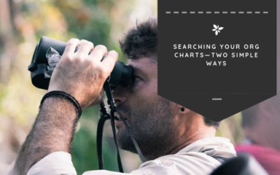 Searching Your Org Charts—Two Simple Ways